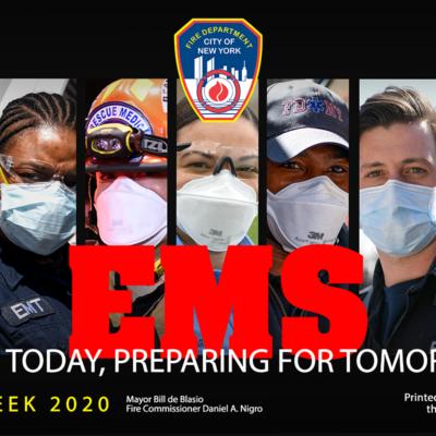 FDNY Celebrates EMS Week 2020