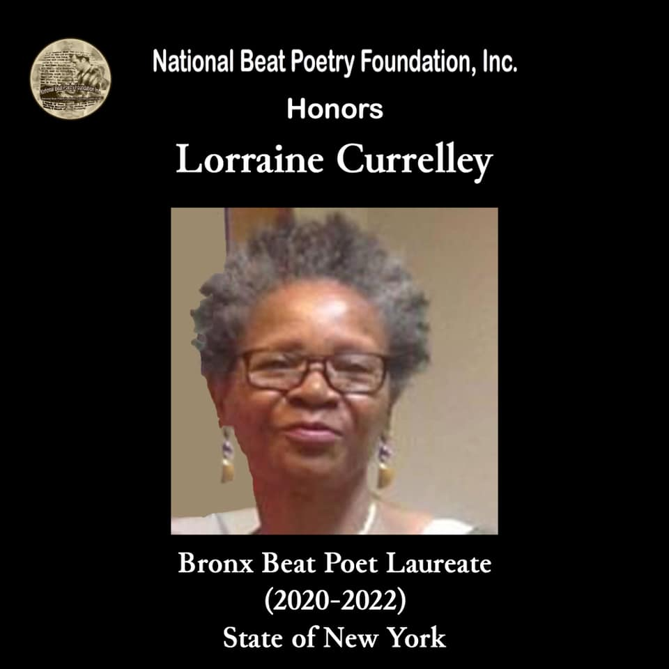Lorraine Currelley Honored By The National Beat Poetry Foundatuon