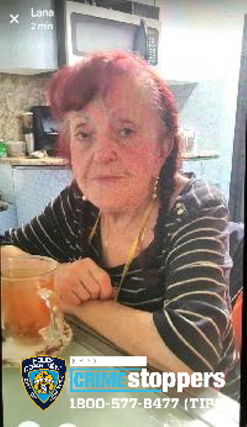 Mariya Birenboym, 81, Missing