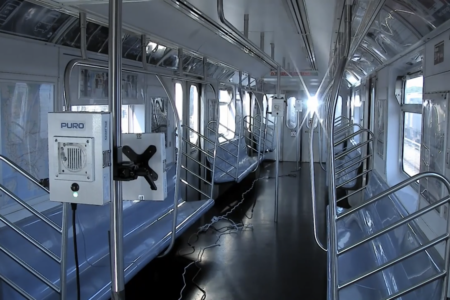 MTA Moves Forward With Ultraviolet Pilot For Disinfecting Full Trains