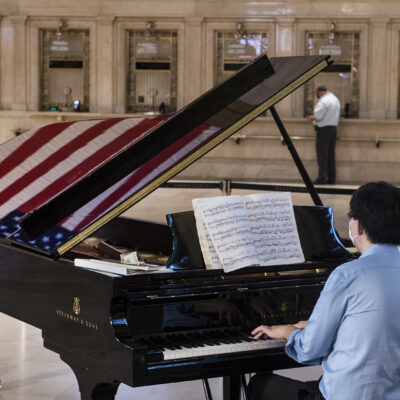 Grand Central Terminal Welcomes Visitors Back With New Spotify Channel & Live Pianist