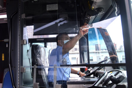 Innovative Barriers To Be Installed On Buses To Further Enhance Operator Safety