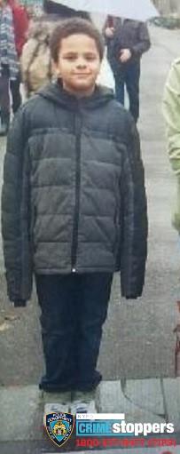 Israel Rodriguez, 14, Missing