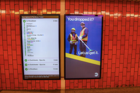 MTA Deploys 9,000 New Digital Screens Systemwide