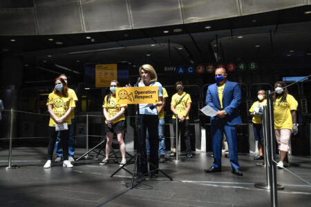 "MTA's ""Operation Respect"" To Promote Universal Mask Compliance Systemwide"