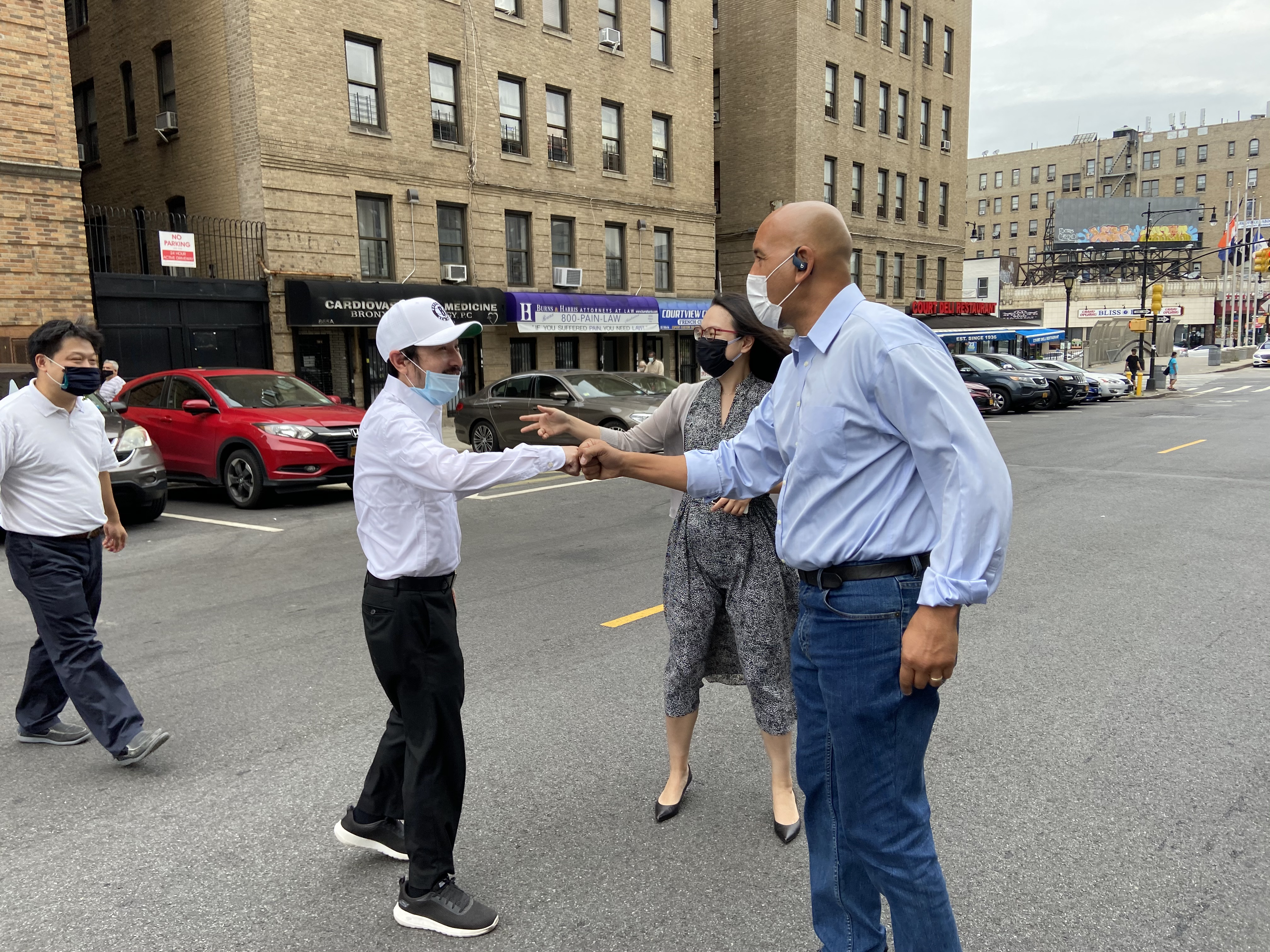 Donation Of 50,000 Face Masks For Bronxites