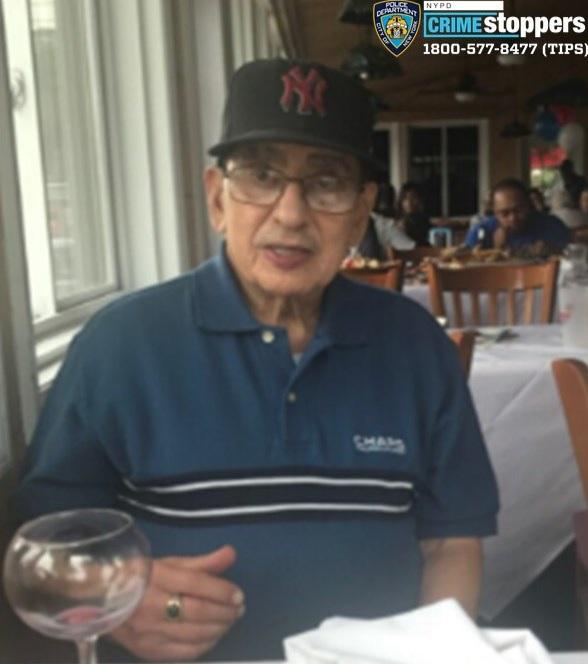 Isaias Alvarado, 85, Missing