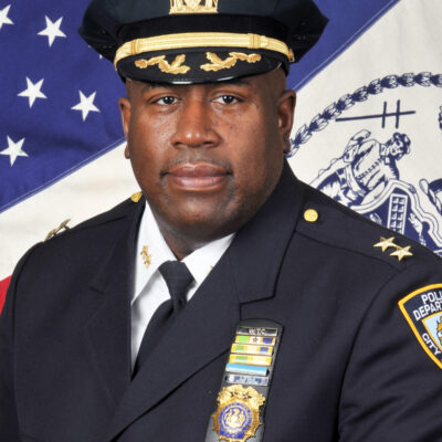NYPD's Newly Appointed Chief Of Community Affairs Addresses The Media