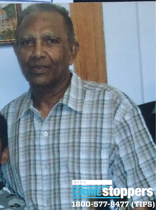 Ragnanan Singh, 80, Missing