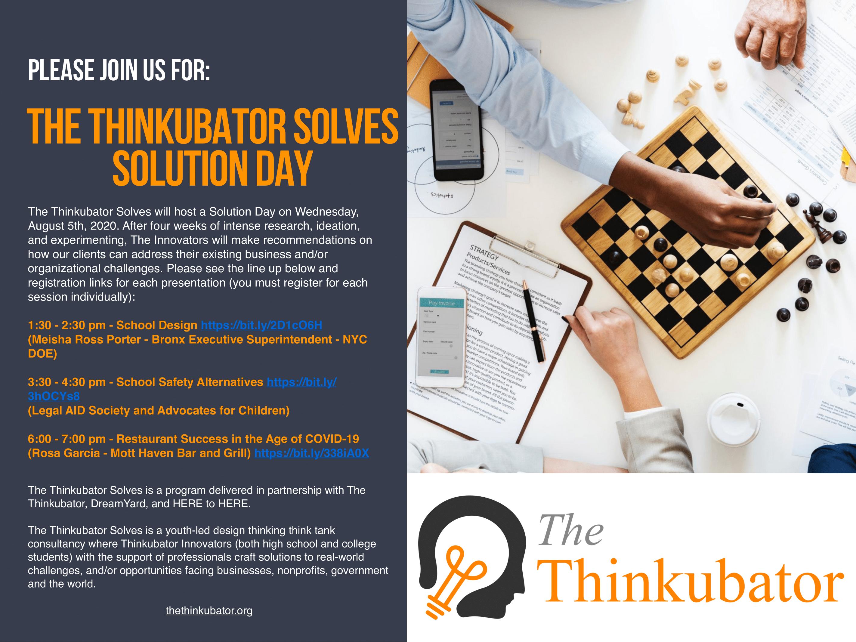 The Thinkubator Solves Solution Day