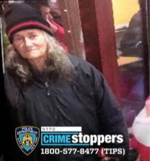 Ann Thomson, 72, Missing