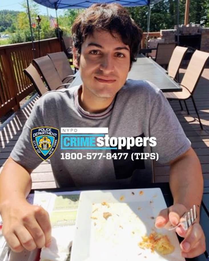 David Gasparov, 23, Missing