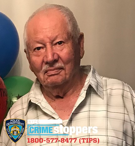Israel Perez, 89, Missing
