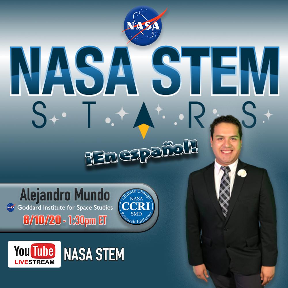NASA STEM Stars Program Will Feature Bronx Scientist & Educator Alejandro Mundo