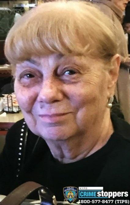 Tamara Svistunova, 80, Missing