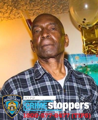 Winston Corrian, 77, Missing