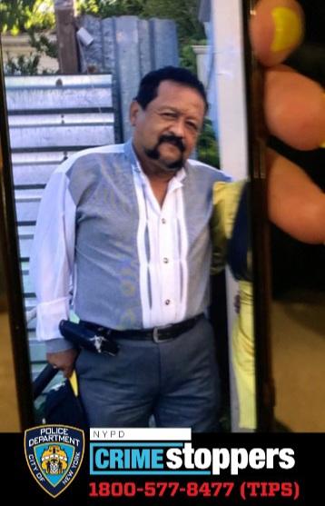 Winston Quinonez Medina, 68, Missing