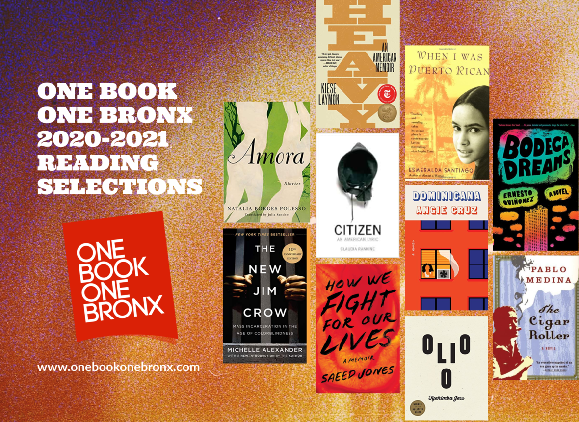 One Book One Bronx 2020-2021 Reading Selections
