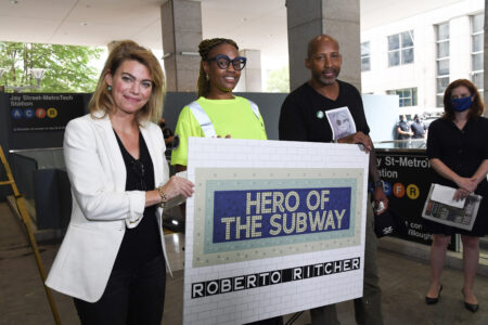 MTA Employees Commended For Saving The Life Of A Subway Rider