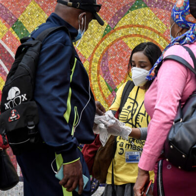MTA Mask Force Approaches 200,000 Masks Given Out This Week