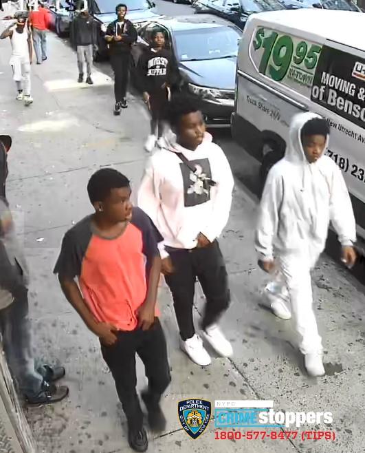Help Identify A Robbery Octet