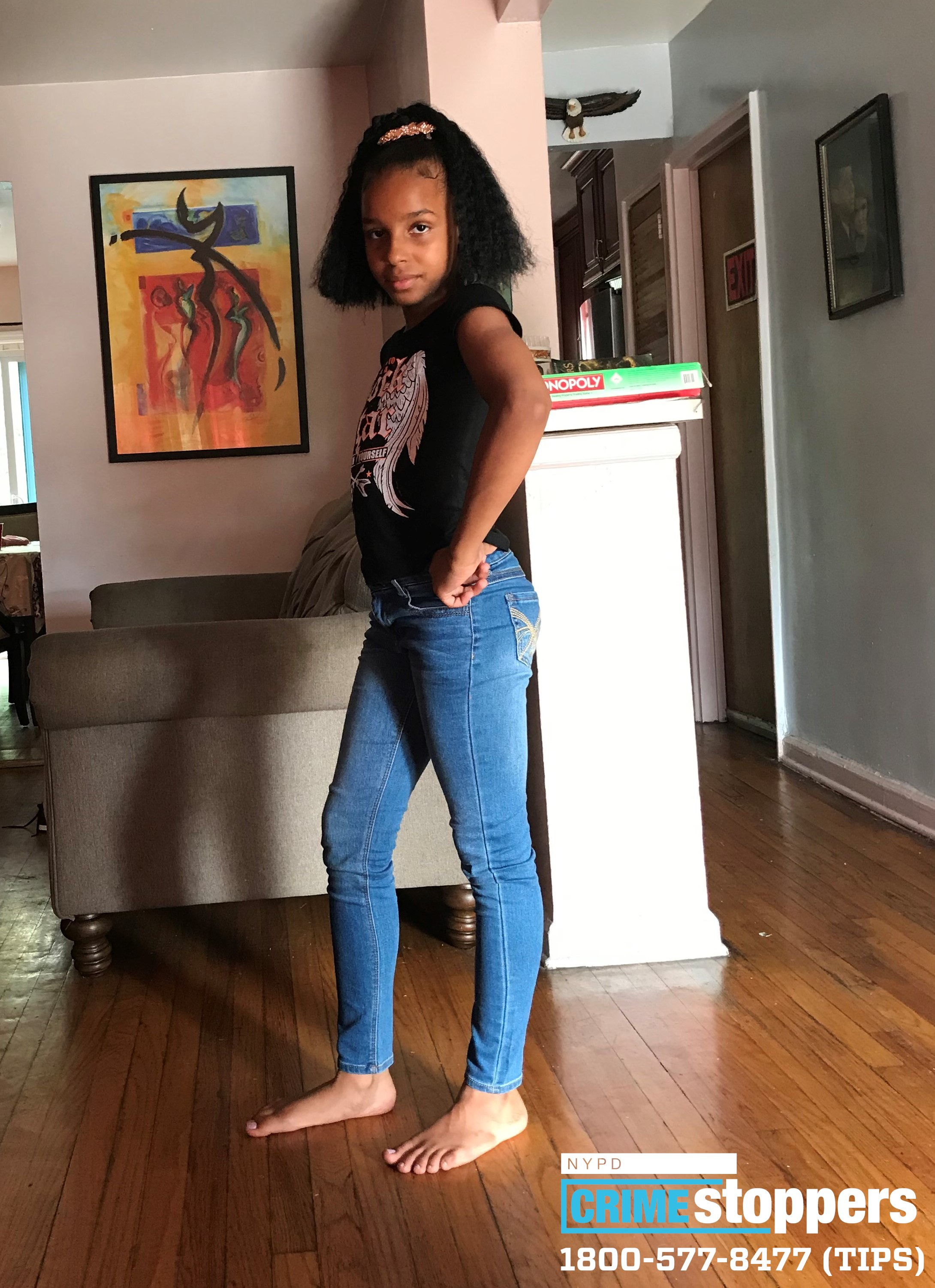 Alisha Hunter, 11, Missing