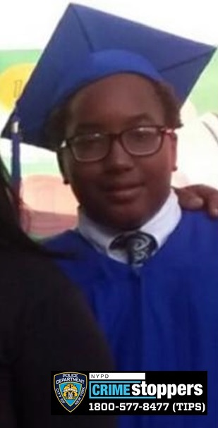 Elijah Clerveaux, 16, Missing