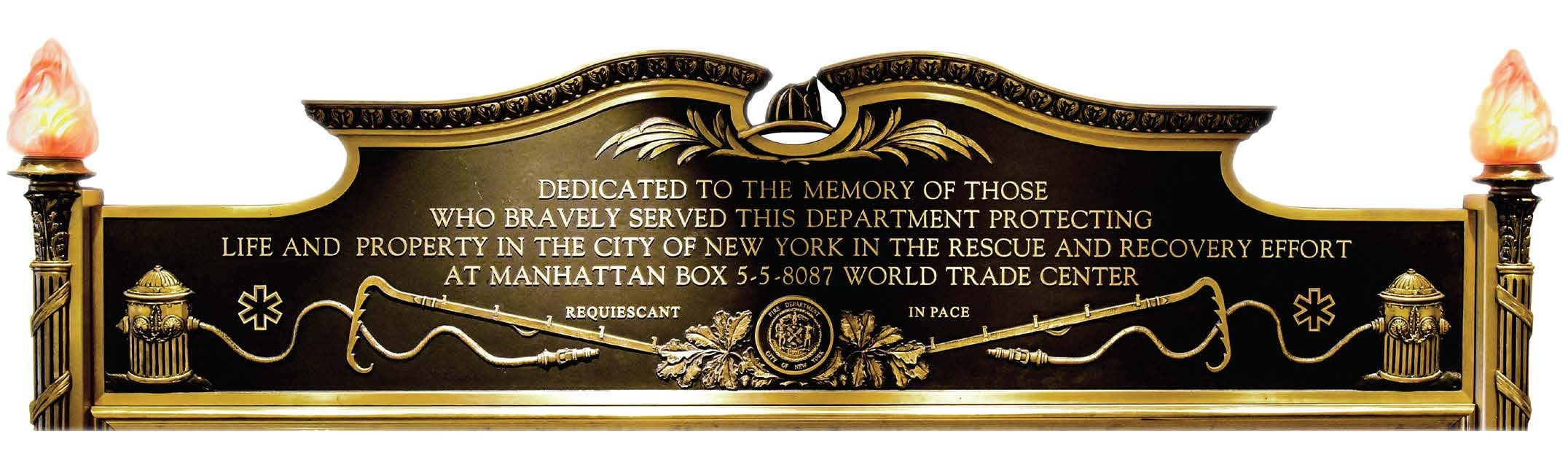 FDNY Adds 27 Names To Memorial Wall For Deaths Related To WTC Illness