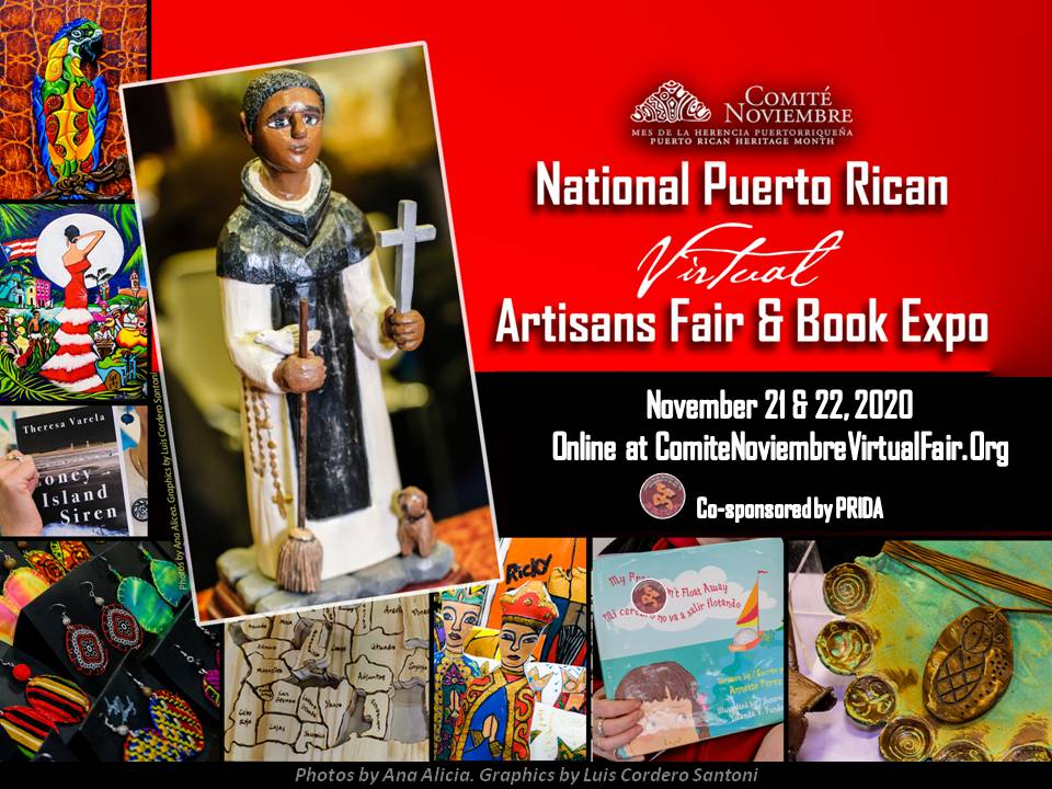 National Puerto Rican Virtual Artisan Fair & Book Expo