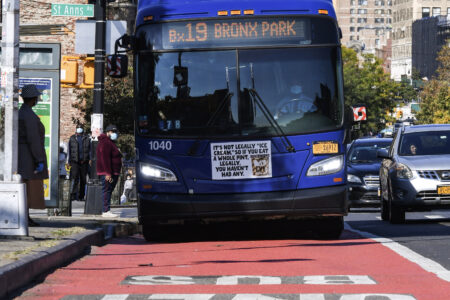 Bronx Bus Priority Lanes & Related Infrastructure Completed