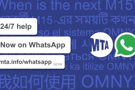 MTA New York City Transit Now Using WhatsApp To Communicate With Customers