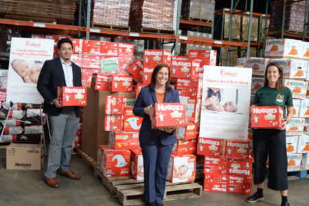 Robin Hood & Allied Foundation Donate 200,000 Diapers To City Harvest