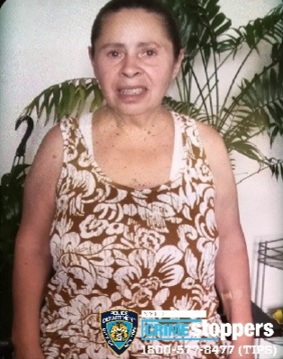 Maria Cartagena, 59, Missing