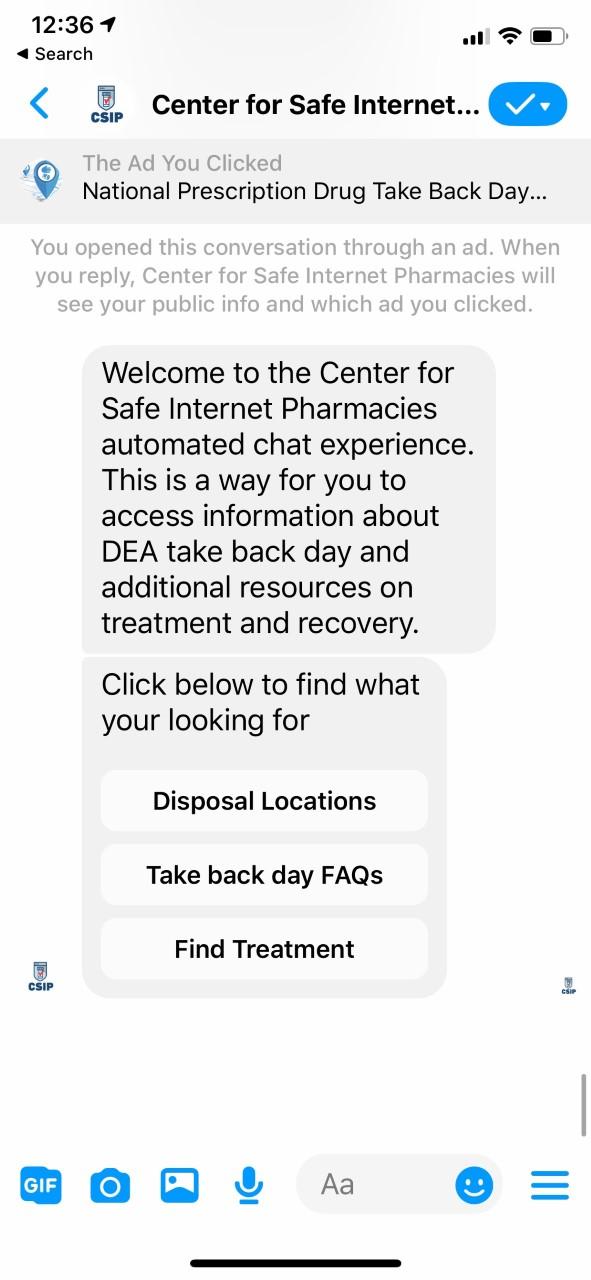 Facebook, Google & Twitter Unite For National Prescription Drug Take Back Day