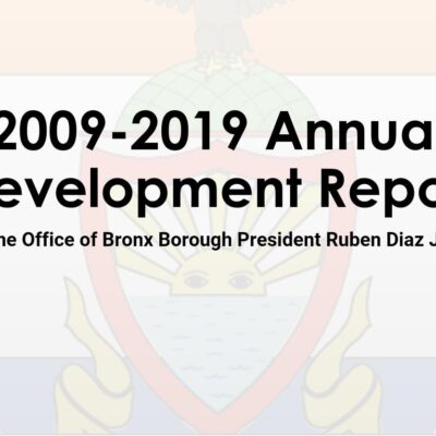 Bronx Annual Development Report