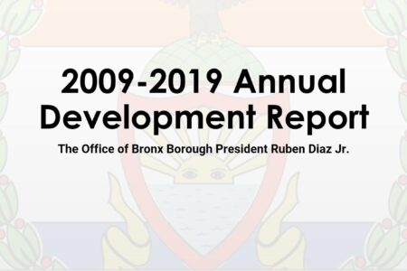 Bronx Annual Development Report