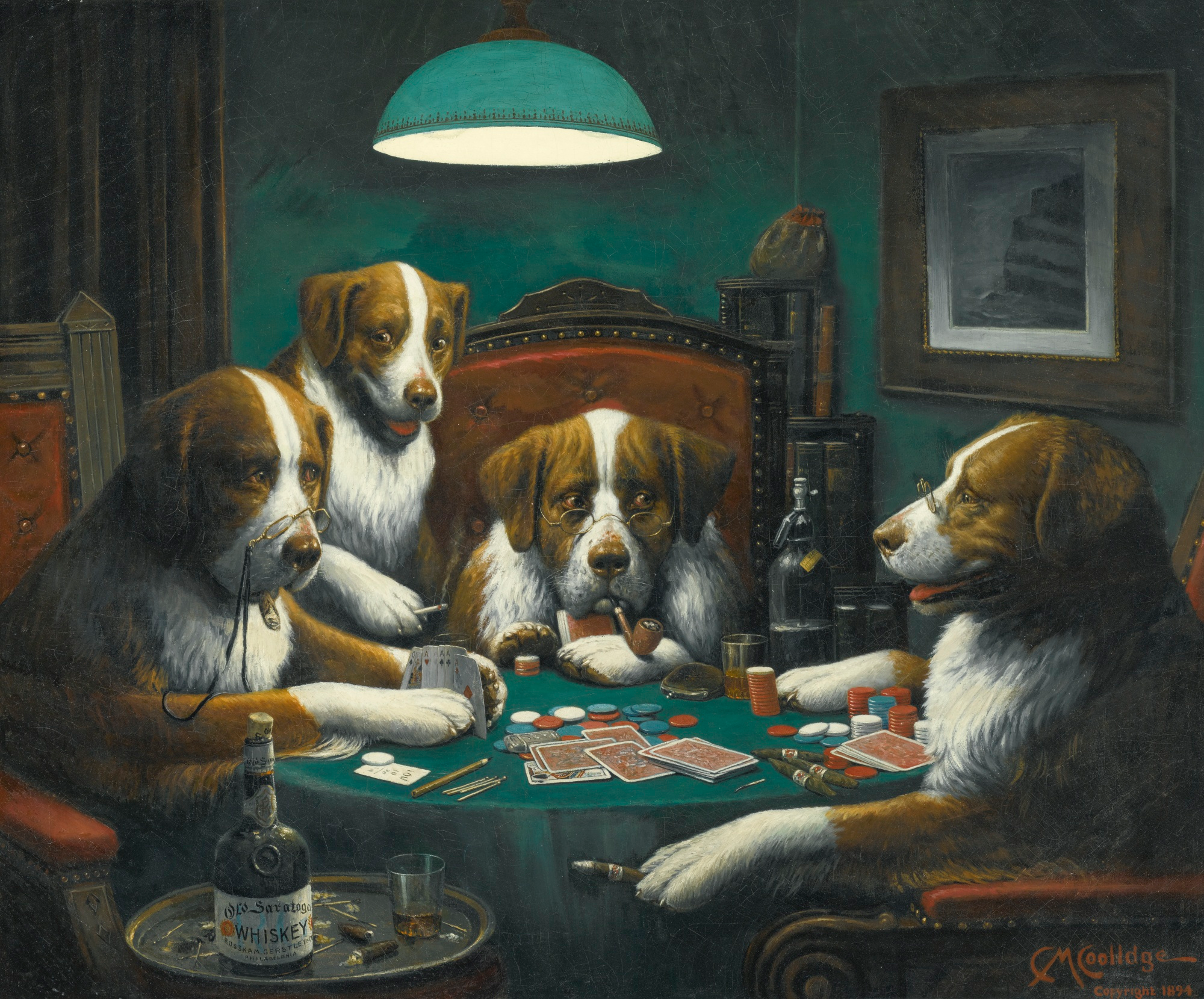 The Influence Of Gambling On Famous Art