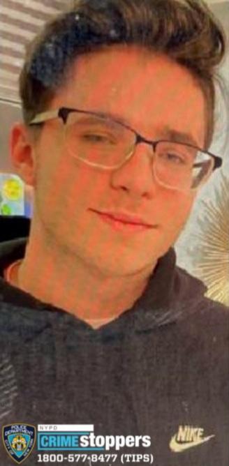 George Mathioudakis, 16, Missing