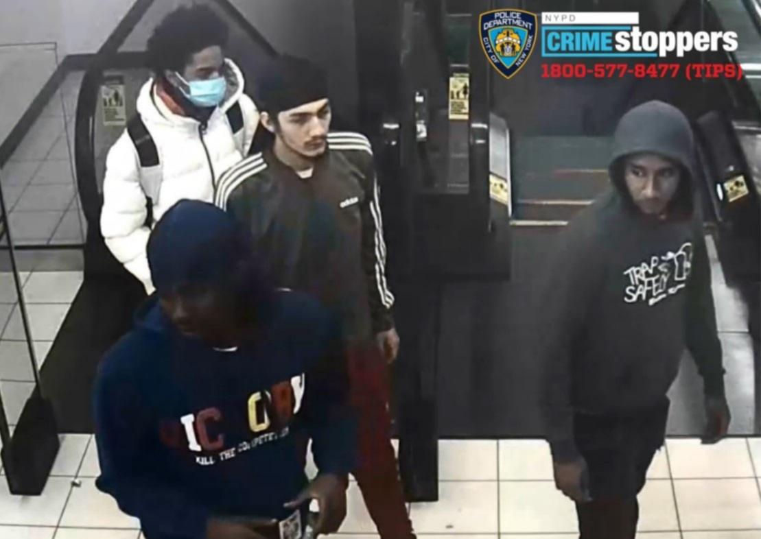 Help Identify A Grand Larceny Gang