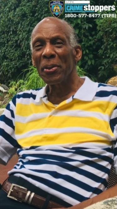 Edmund Smart, 84, Missing