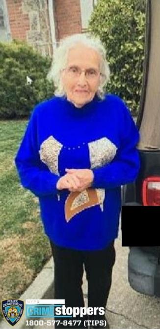 Jenny Rizzi, 94, Missing