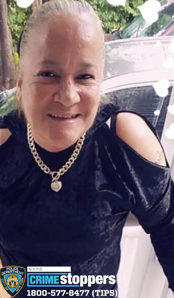 Rosalina Cardona, 58, Missing