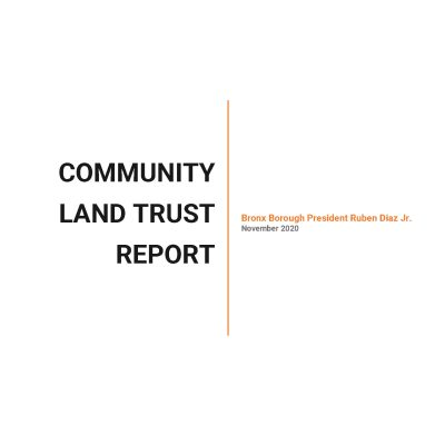 2020 Community Land Trust Report