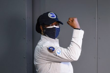 MTA's Heroic Frontline Workers Begin CoViD-19 Vaccinations