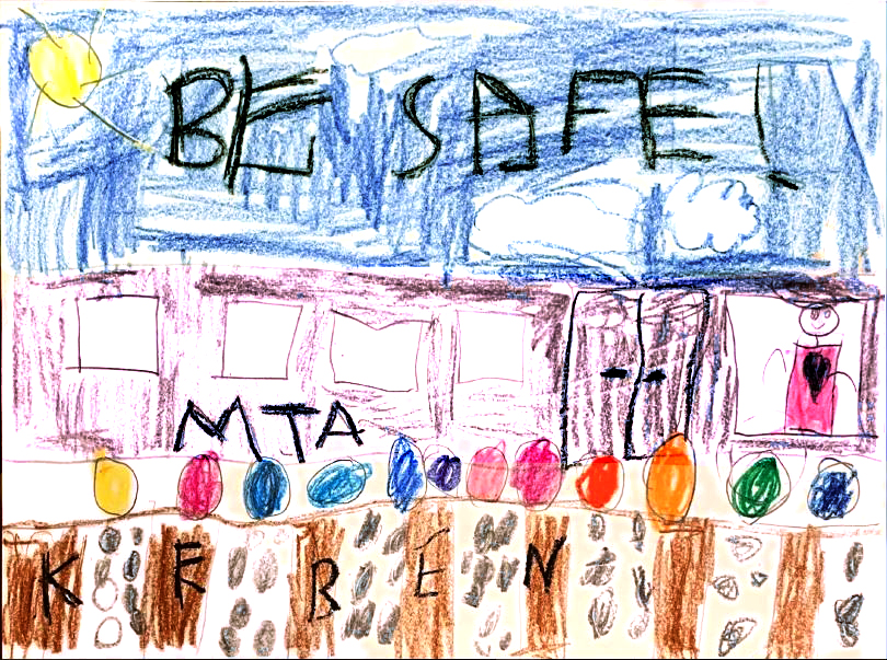 Metro-North Railroad's Annual Rail Safety Poster Contest Winners
