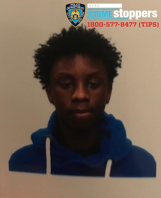 Mohammed Barry, 17, Missing