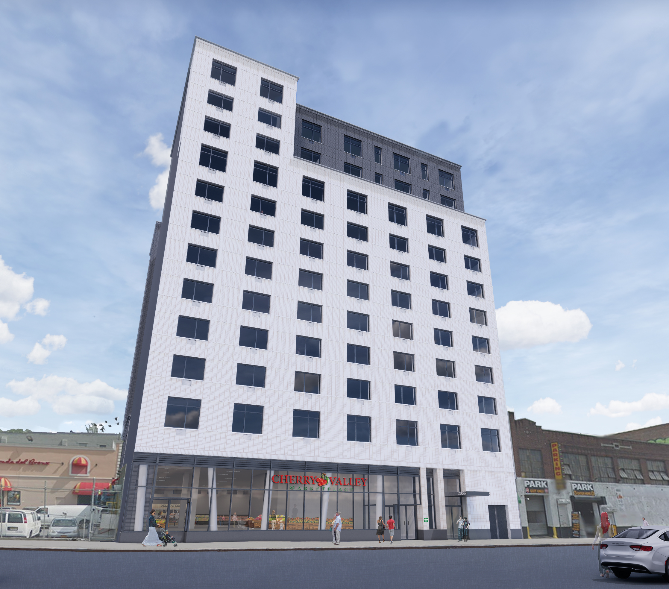 A $93.5 Million Mixed-Use Affordable Senior Housing Development IsComing To The Bronx