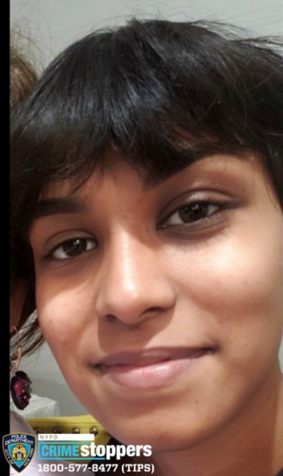 Parvini Balkaran, 18, Missing