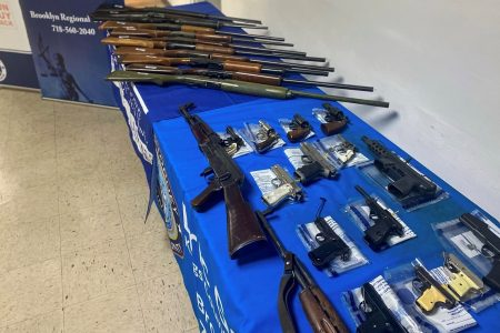 Brooklyn Gun Buyback Fetches 48 Firearms