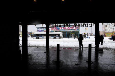 MTA Battles First Snowstorm Of 2021